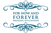 For Now and Forever Wedding Invitations - Home