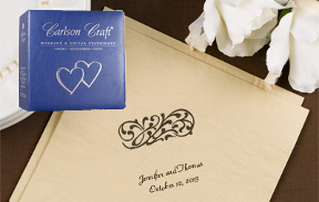 For Now and Forever Wedding Invitations Carlson Craft Invites